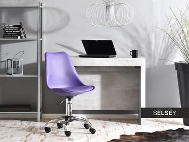 Fotel biurowy Luis move fioletowy obrotowy
