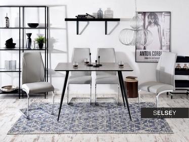 Stół Oneka 120x80 cm beton w stylu industrialnym