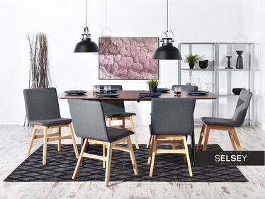 Krzesło Mirano szare - dąb do nowoczesnej jadalni
