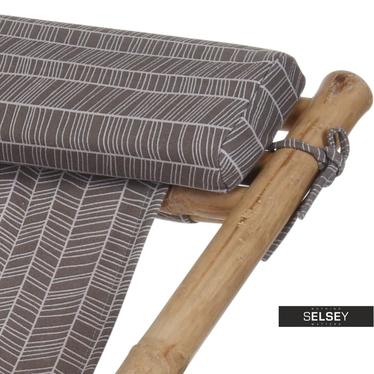 Leżak ogrodowy Bambus jodełka