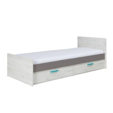 Łóżko Jonk z czterema szufladami