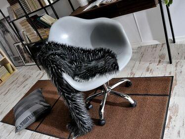 Fotel biurowy MPA move szary regulowany na kółkach