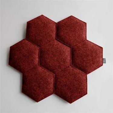 Poduszka Plaster czerwony melanż