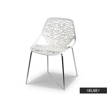 Krzesło Labirynt ażurowe