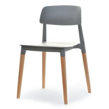 Krzesło Ecco szare