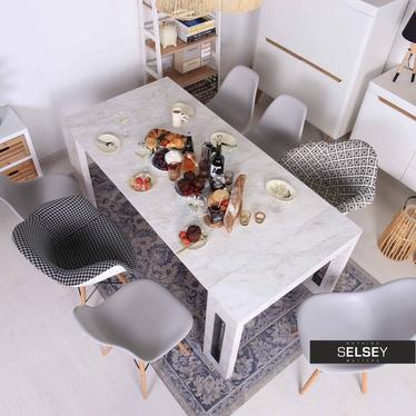 Stół rozkładany Roma marmur