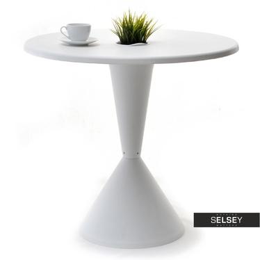 Stół Disk średnica 80 cm biały z tworzywa