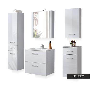 Zestaw mebli łazienkowych Tulum dwie szuflady