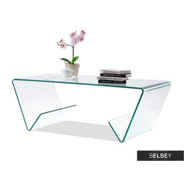Ława Zuma 109x55 cm szklana