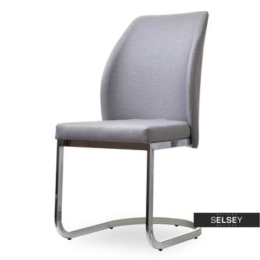Krzesło Adria szare we włoskim stylu