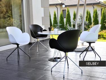 Krzesło Swan rod białe