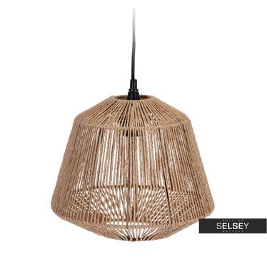 Lampa wisząca z papierowej plecionki 30 cm