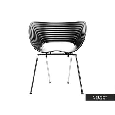 Krzesło Shell z wytrzymałego tworzywa
