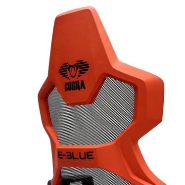 Fotel gamingowy E-Blue Cobra Air czarno-czerwony z wentylacją