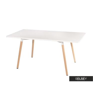 Stół Copine 160x80 cm biały