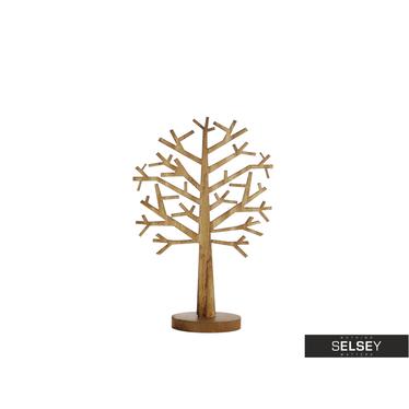 Dekoracja drewniana drzewo 47 cm