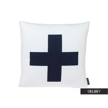 Poduszka z poszewką Skandynawia - Cross
