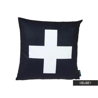 Poduszka z poszewką Skandynawia - Cross II