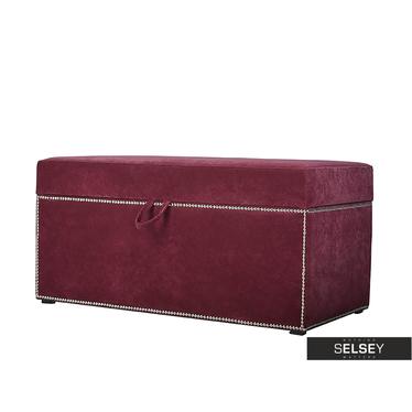 Kufer z tasiemką pineskową