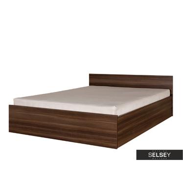 Łóżko Stark z pojemnikiem na pościel i materacem