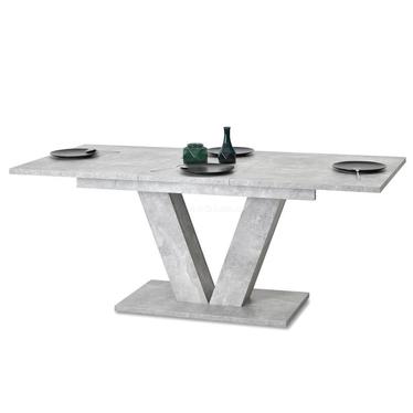 Stół Vendig 138(183)x90 cm beton do jadalni