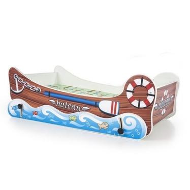Łóżko Barco wielokolorowe z funkcją bujania