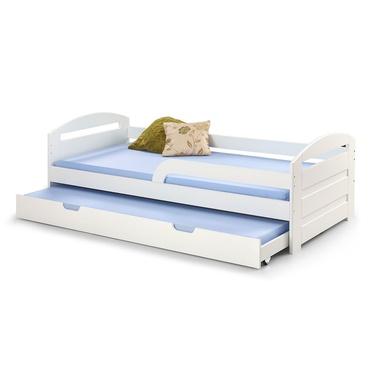 Łóżko Franc białe