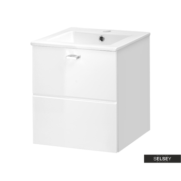 Szafka pod umywalkę Marbella biała 40 cm