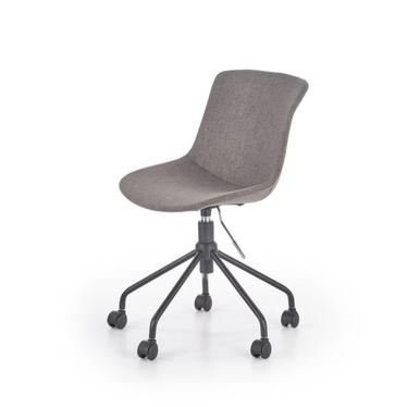 Fotel biurowy Bruno popielate mobilny mechanizm