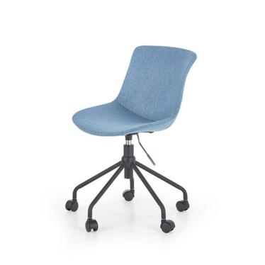 Fotel biurowy Bruno niebieski z obrotowym siedziskiem