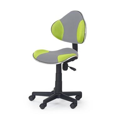 Fotel biurowy Magic szaro - zielony