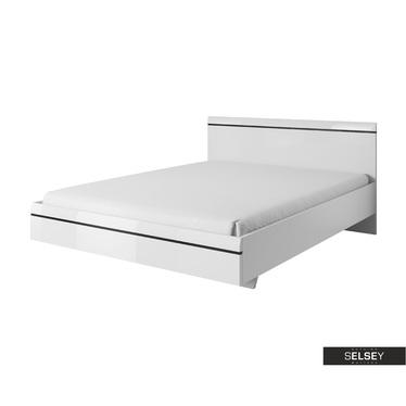 Łóżko Juven białe