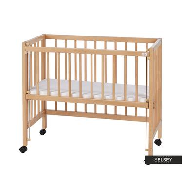 Łóżeczko dziecięce Baby mobilne z materacem