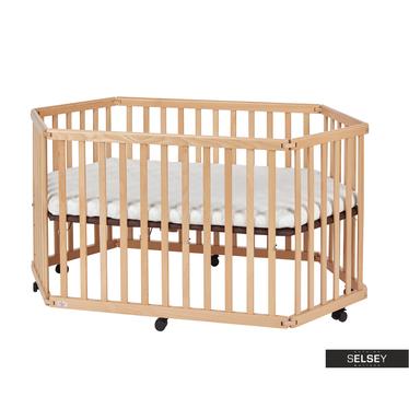 Łóżeczko dziecięce Baby składany kojec z materacem