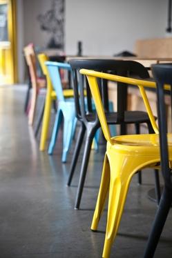 Krzesło Tolader Arms szare