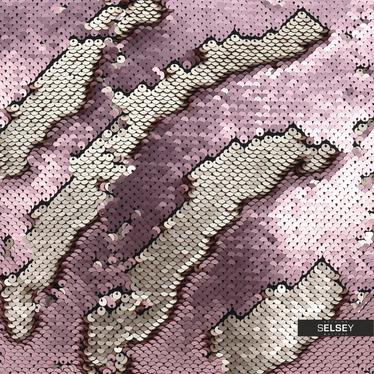 Poduszka z poszewką Sparkle różowa 45x45 cm