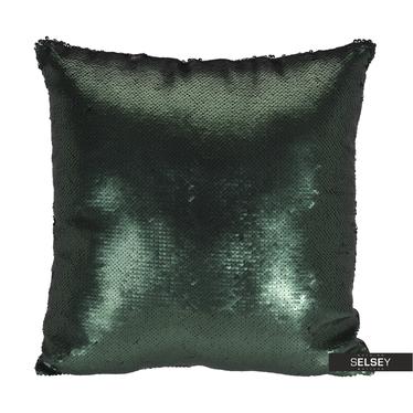 Poduszka z poszewką Sparkle zielona