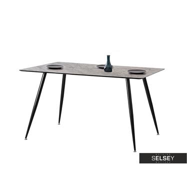 Stół Oneka beton w stylu industrialnym