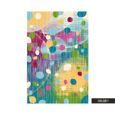Dywan Youth Kolorowa abstrakcja