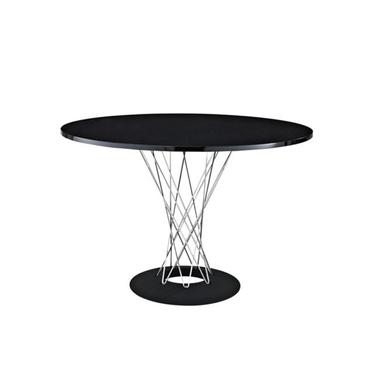 Stół Cyklon średnica 100 cm czarny