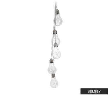 Girlanda LED z 5 żarówkami 6x6x10 cm
