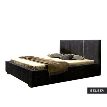 Łóżko Mediolan (wybór rozmiaru i koloru, opcjonalnie materac i pojemnik)