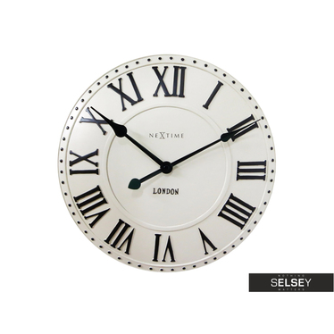 Zegar London Roman średnica 34,5cm