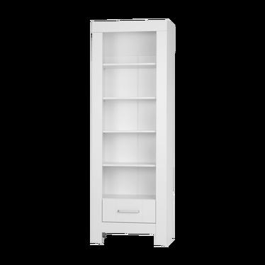 Regał Calmo z szufladą biały