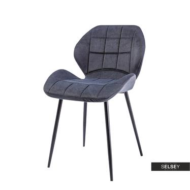 Krzesło Collo grafitowe