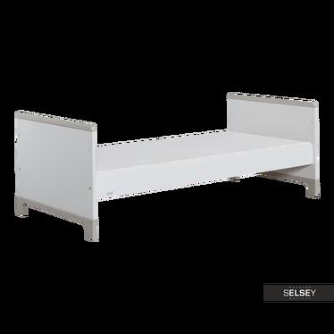 Łóżko Mini szare 70x160 cm