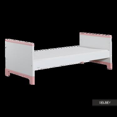Łóżko Mini różowe 70x160 cm