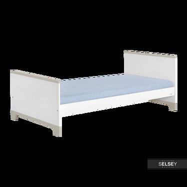Łóżko Mini szare 90x200 cm