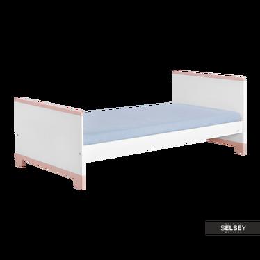 Łóżko Mini różowe 90x200 cm