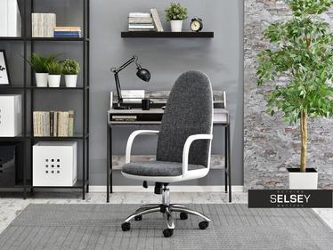 Fotel biurowy Vinci czarno - biały